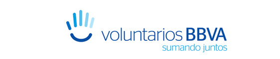 logo voluntarios bbva